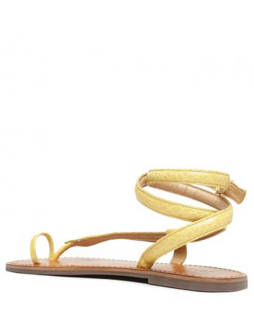 sandales enfant fleurs