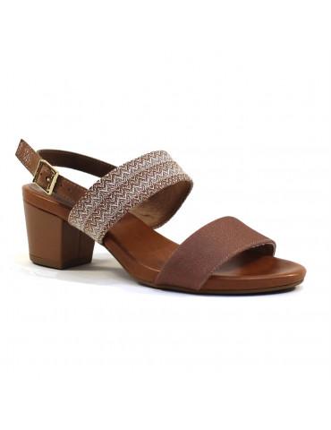 sandales plates empierrées