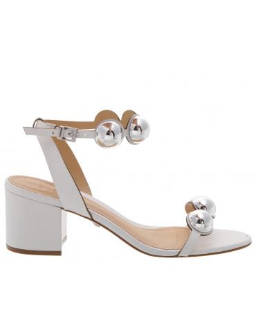 sandales à talons moyens