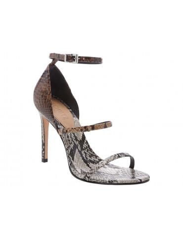 sandale brides croiséesrouge