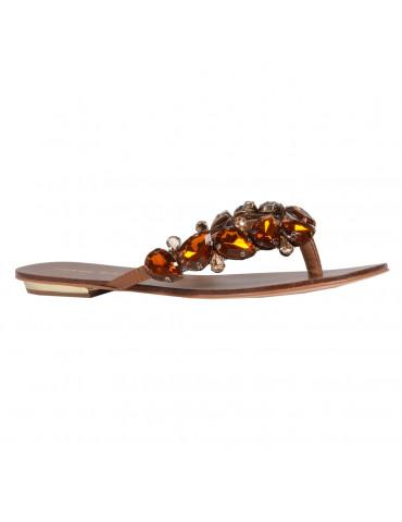 sandales à talonsmulticolore