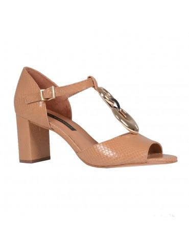 sandale brides croiséesnoir