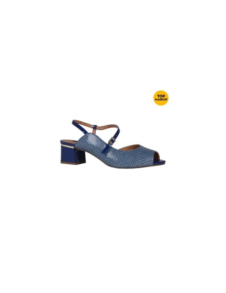sandale à talon couvrante