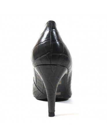 sandale à talon empierrée