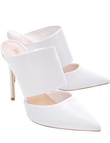 sandale à talon - beige