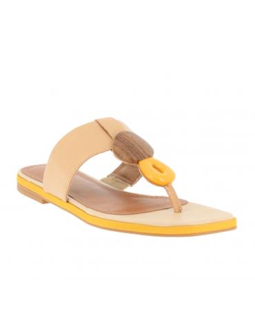 sandales à talons cuir et textile crochet