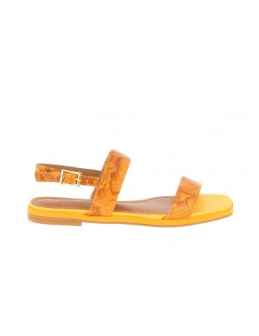 sandales à talons larges