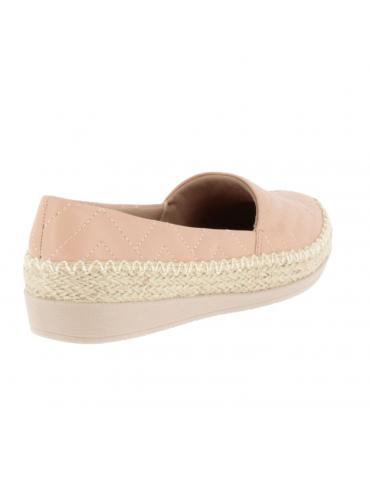 sandale à talon compensé