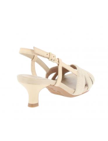 sandales motif vagues