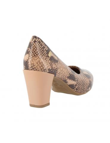 sandales à talons avec fleur pierres