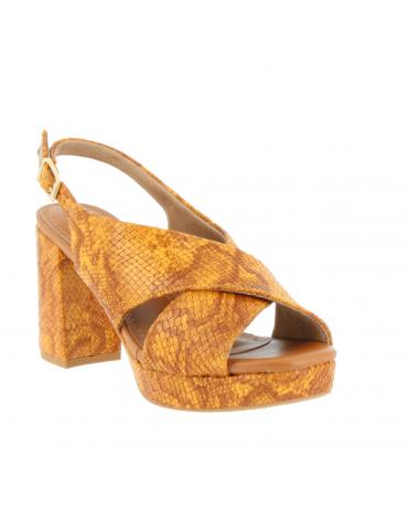 sandales petit talon carré pierres