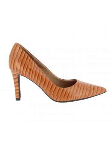 sandales à talons métal bouts pointus - noir