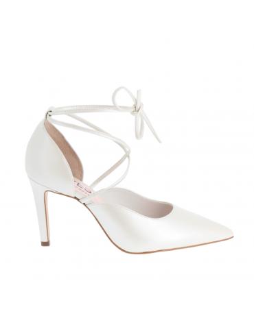 sandales à talons brides multibrins