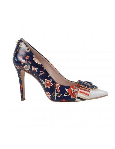 chaussures à talons compensés - marron
