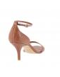 sandales à talons larges brides croisées