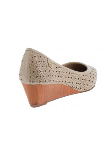 sandales perles - beige