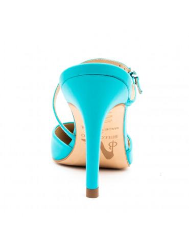 sandales talons large liège