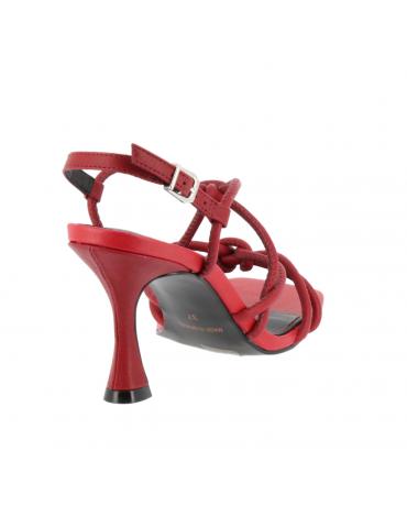 sandales plates logo