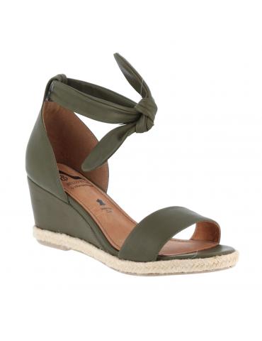sandales empierrées - marron