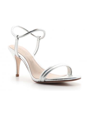 sandales à talons médium bride croisée