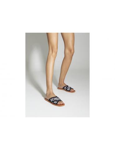 sandales cuir et pierres