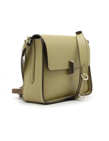 sac à main avec pochette amovible - beige/blanc