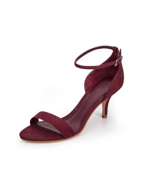 sandale à talon large