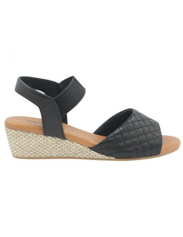 sandales talons larges