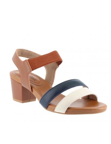 sandales empierrées - blanc