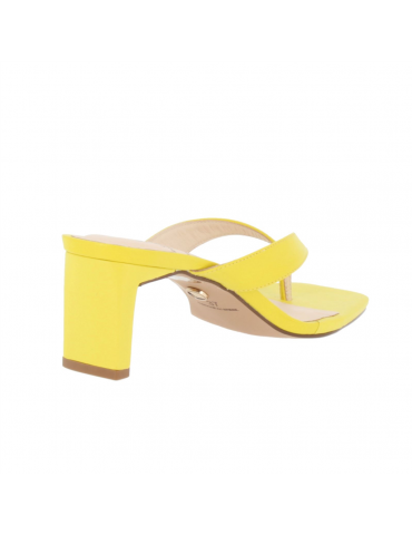 peep toe confort boucle métal - beige