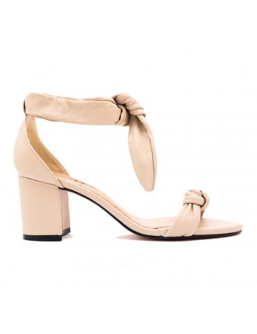 sandale à talons larges