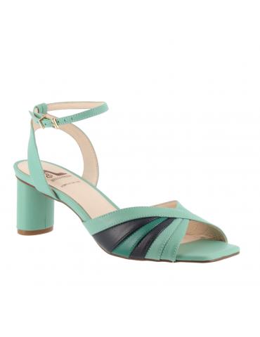 peep toes confort motif boucle métal