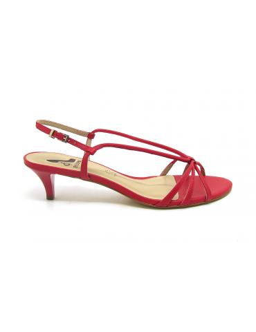 sandales à talons schuts noeud