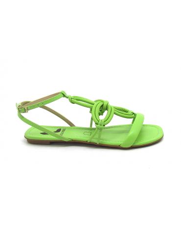 sandales à talons noeud schutz - noir