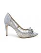 sandales à talons carrés liège brides croisées