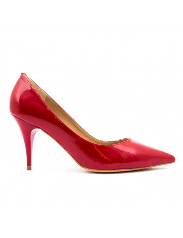 chaussure plate avec bride arrière