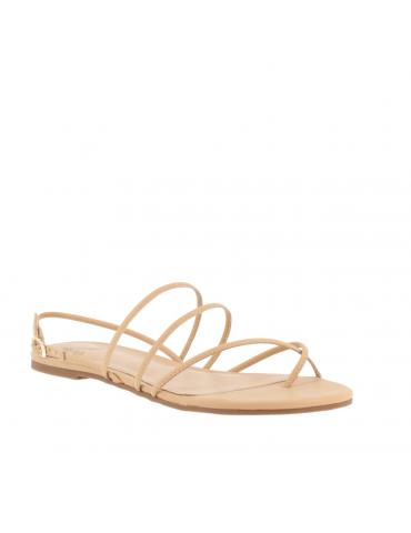 peep toe d'orsay - doré