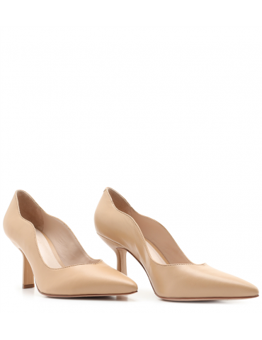 sandale à talon haut - doré