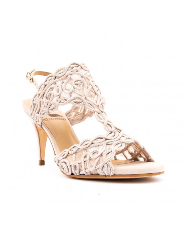 sandales à talons - rouge vif