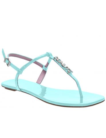 sandales à talons cuir drappé - argent