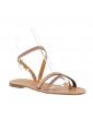 sandales talons carrés hauts brides larges