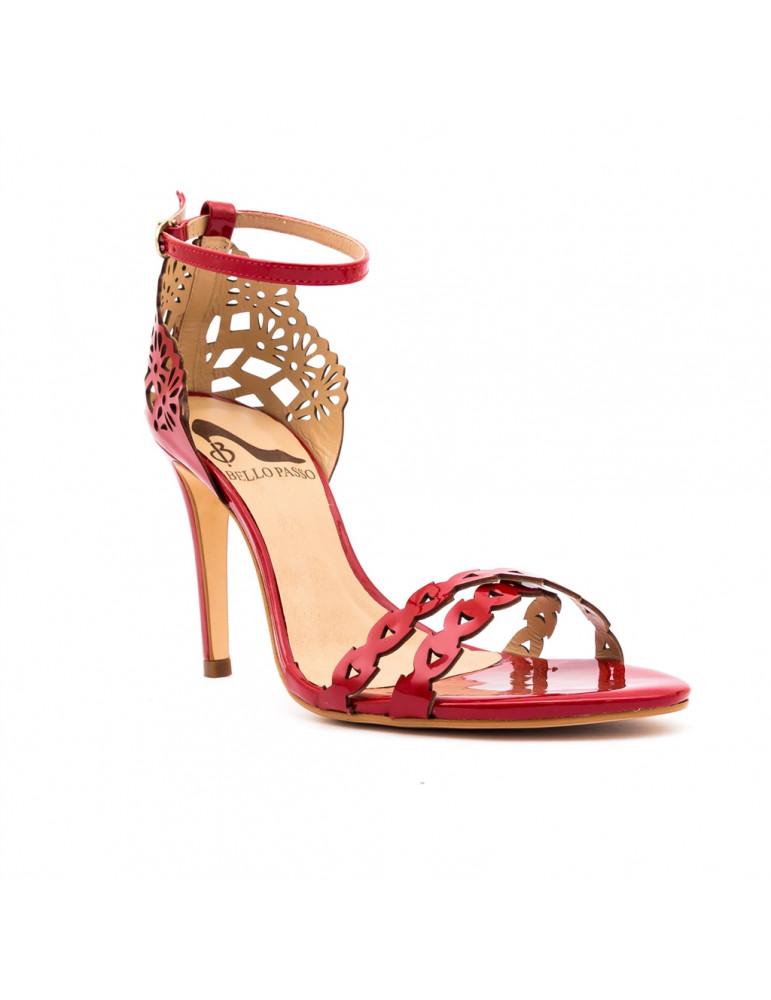 chaussures compensées avec lien cheville
