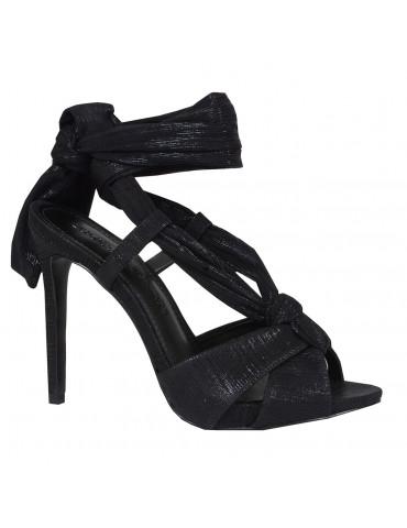 sandales empierréesviolet