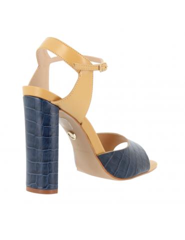sandales confort à talons