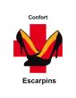 escarpins confort