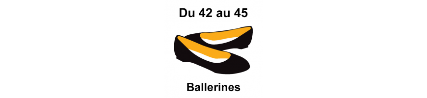Grandes pointures ballerines